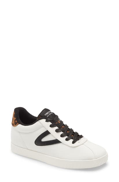 Tretorn Callie11 Sneaker In White/ Black/ Tan/ Multi