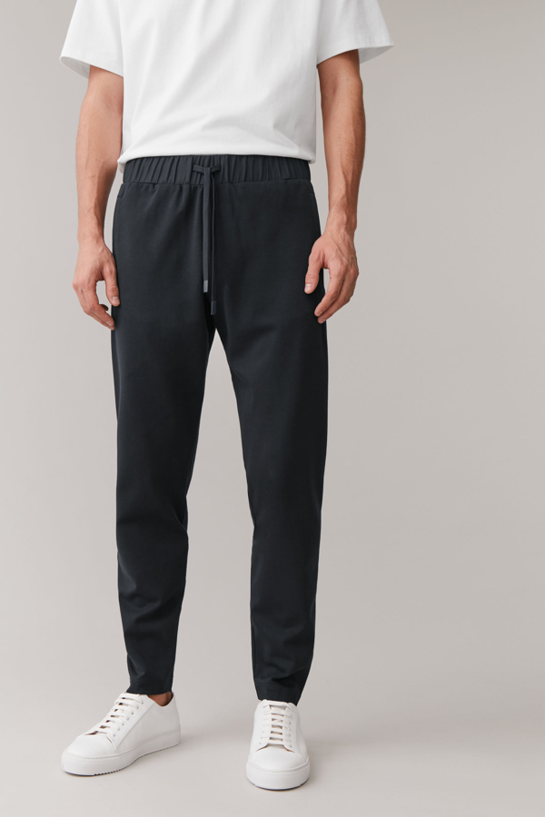 Cos Pull-on Joggers In Blue