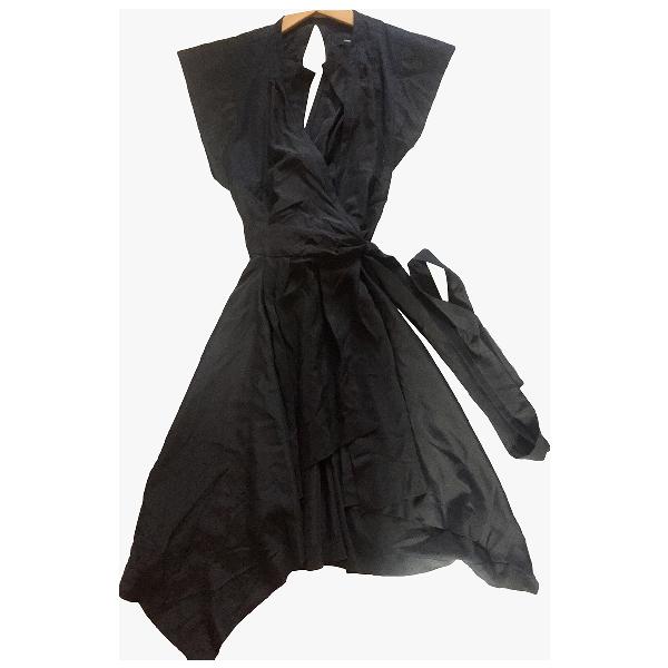 Isabel Marant Black Silk Dress