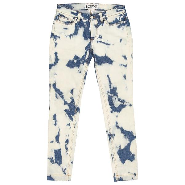 Loewe Ecru Denim - Jeans Jeans