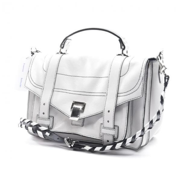 Proenza Schouler Ps1 White Leather Handbag