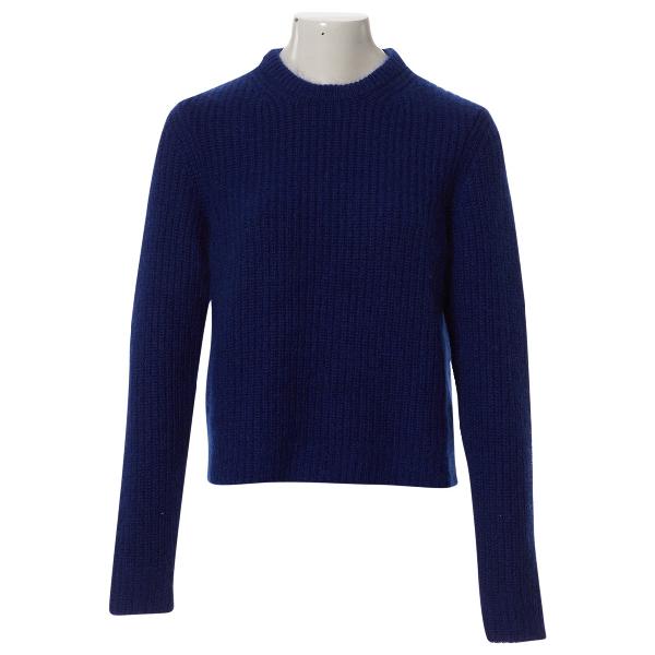 Calvin Klein 205w39nyc Blue Cashmere Knitwear