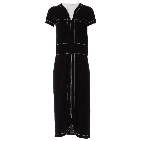 Chanel Black Cotton Dress