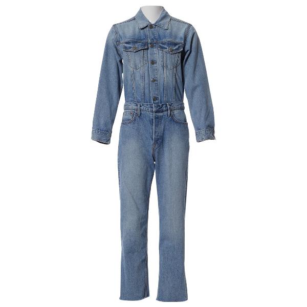 Grlfrnd Blue Denim - Jeans Jumpsuit