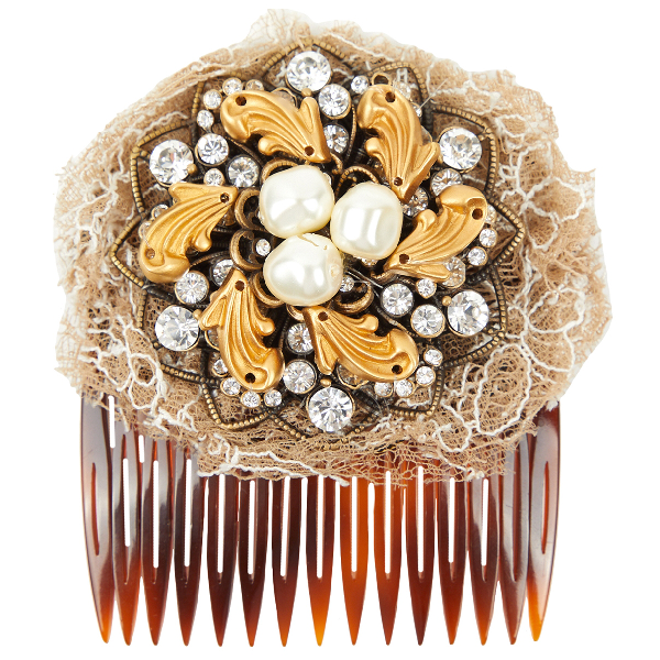Dolce & Gabbana Brown Pins & Brooches