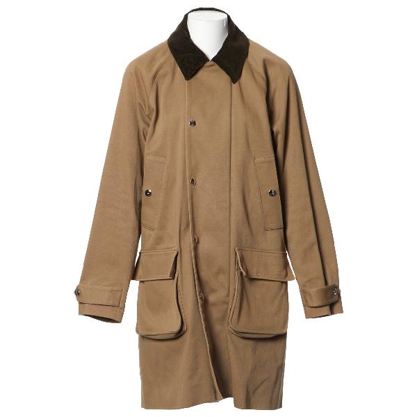 Acne Studios Beige Cotton Coat
