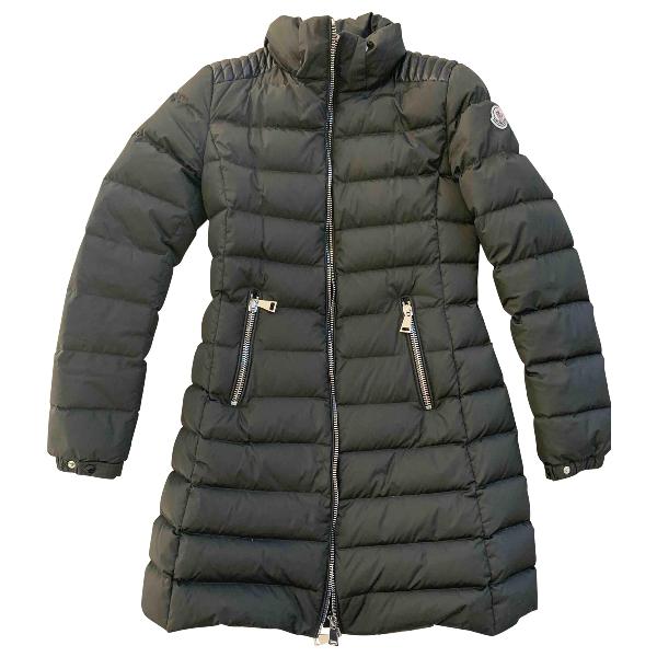 Moncler Fur Hood Khaki Jacket