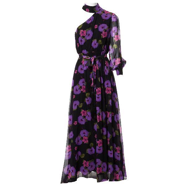 Borgo De Nor Multicolour Silk Dress