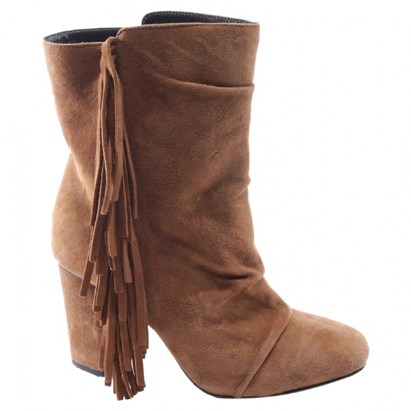 Giuseppe Zanotti Brown Suede Ankle Boots