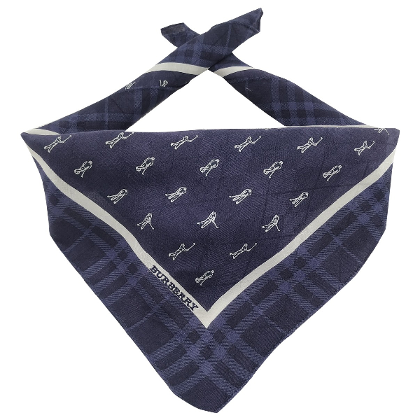 Burberry Cotton Scarf & Pocket Squares