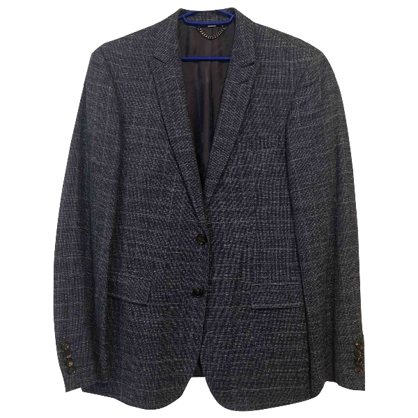 Burberry Navy Cotton Jacket