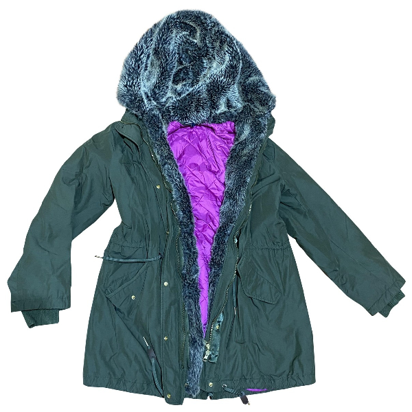 Tommy Hilfiger Green Coat