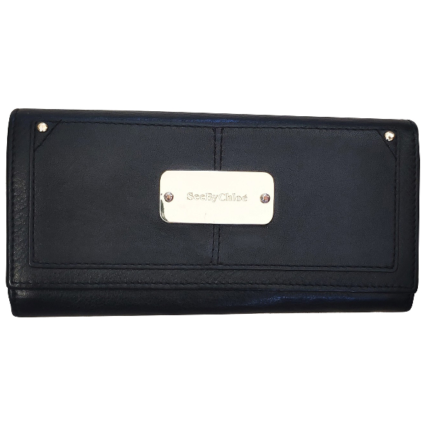 See By ChloÉ Black Leather Wallet