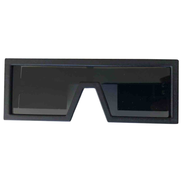 Mykita Black Wood Sunglasses