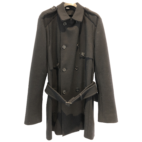 Dior Black Wool Coat
