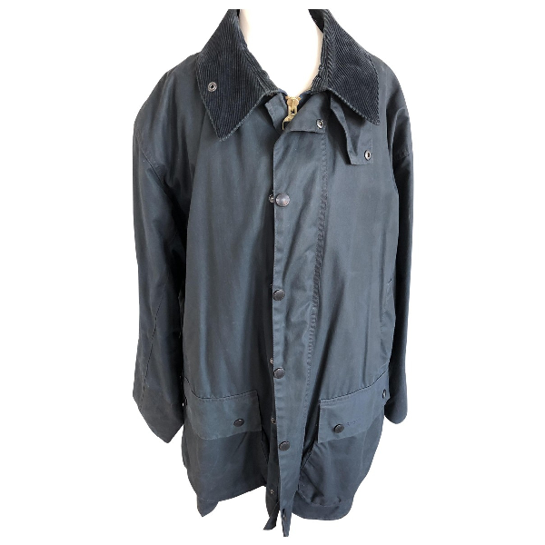 Barbour Blue Cotton Jacket