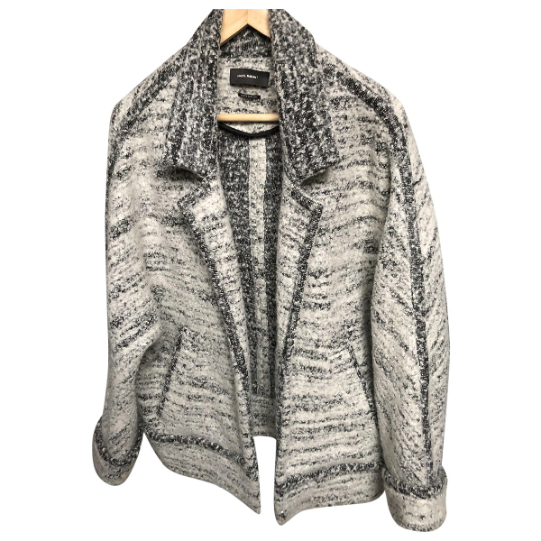 Isabel Marant Grey Wool Coat