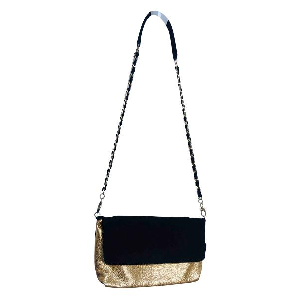 Vanessa Bruno Black Leather Handbag