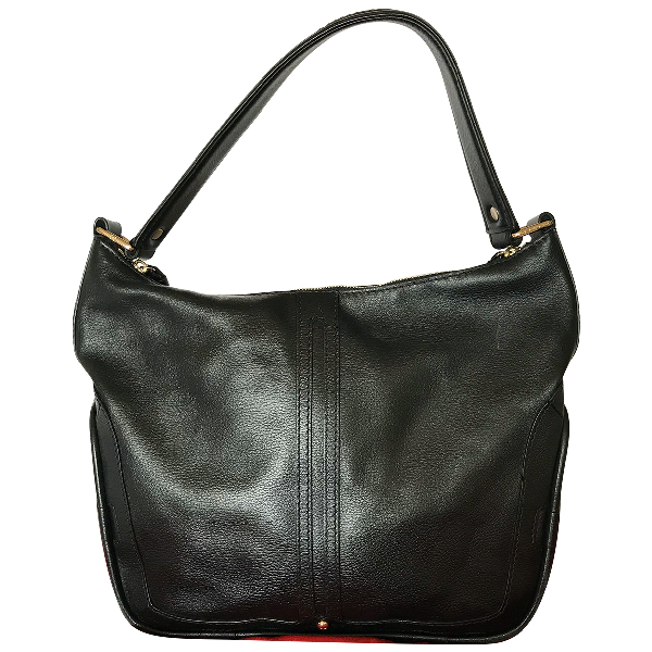 Lancel Black Leather Handbag