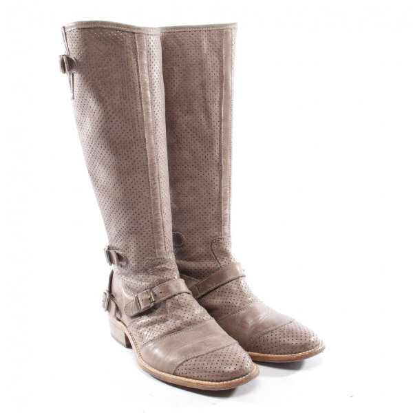 Belstaff Brown Leather Boots