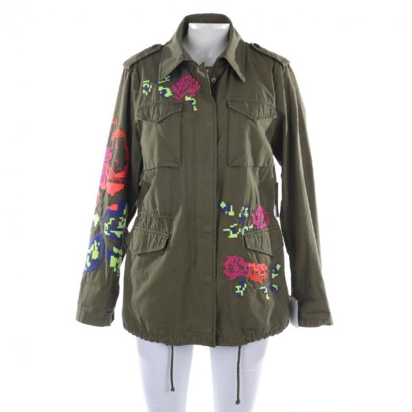 Blonde No.8 Green Cotton Jacket