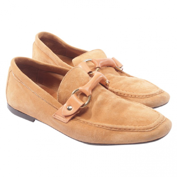 Isabel Marant Brown Suede Flats