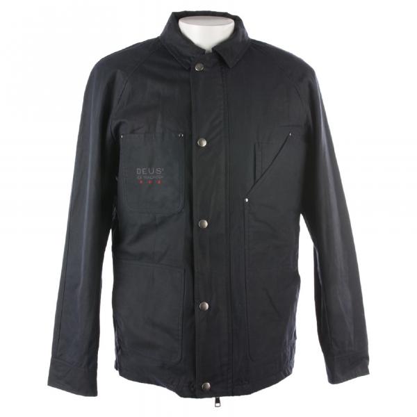 Deus Ex Machina Blue Cotton Jacket