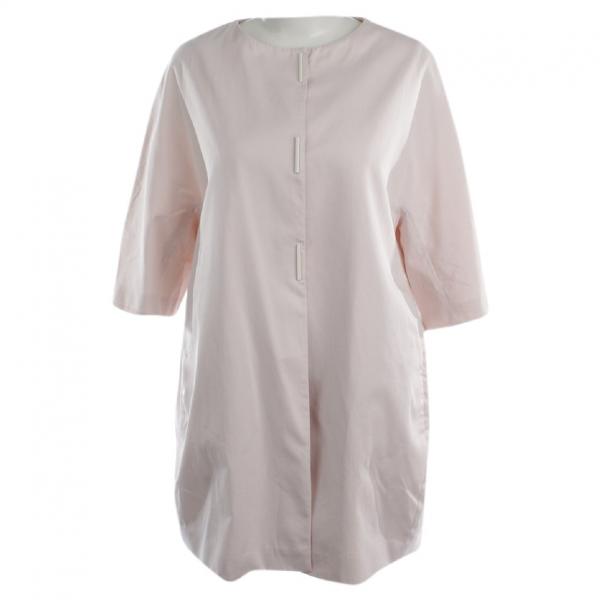 Fabiana Filippi Pink Cotton Jacket