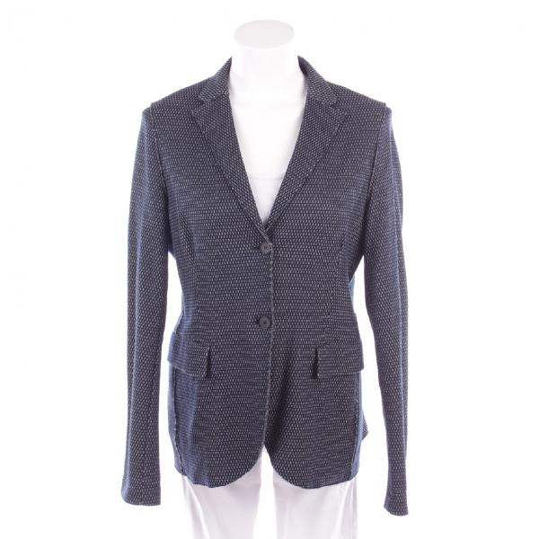 Harris Wharf London Blue Cotton Jacket
