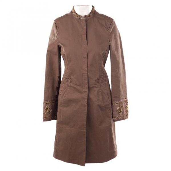 Schumacher Brown Cotton Jacket