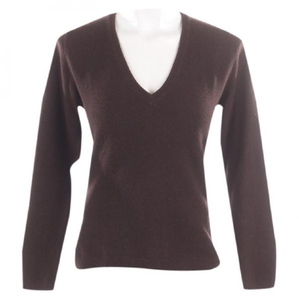 Brunello Cucinelli Brown Cashmere Knitwear