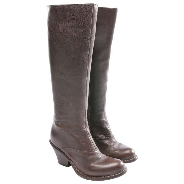 Fiorentini + Baker Brown Leather Boots