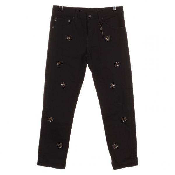 Ag Black Cotton Jeans