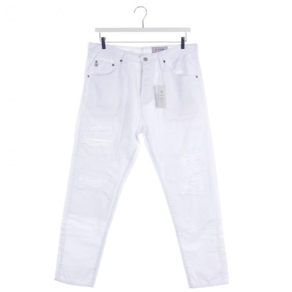 Ag White Cotton Jeans