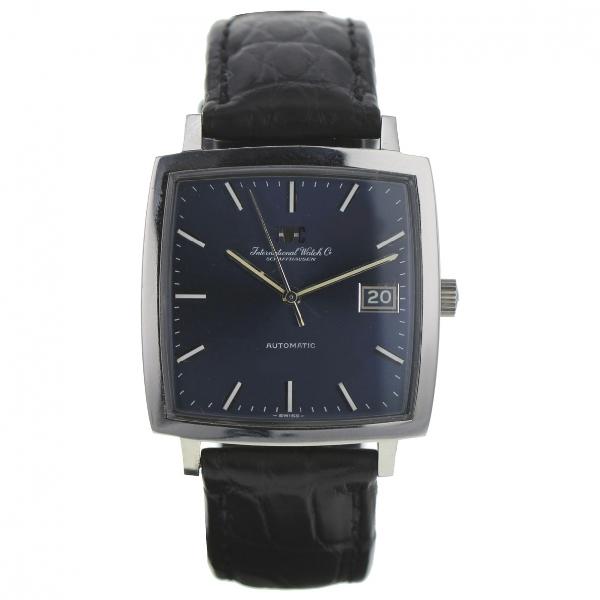 Iwc Schaffhausen Khaki Steel Watch