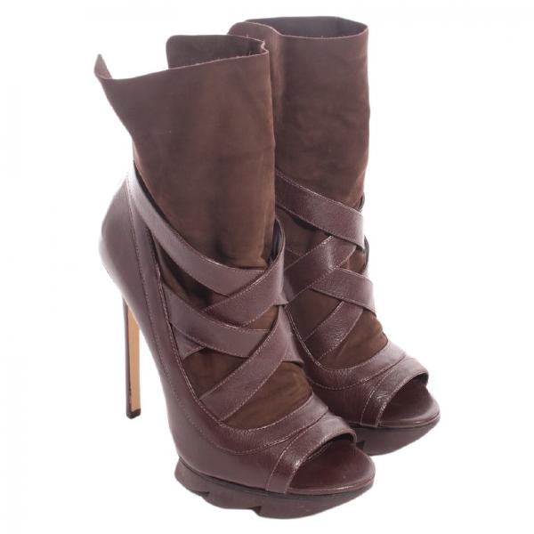 Camilla Skovgaard Brown Leather Heels