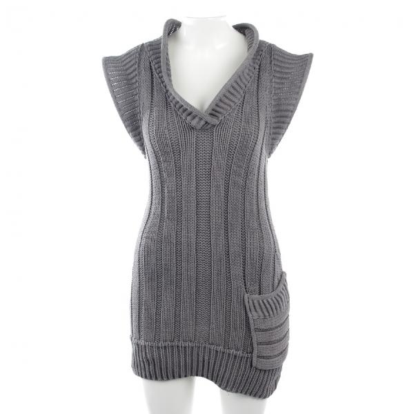 Fendi Grey Cotton Dress