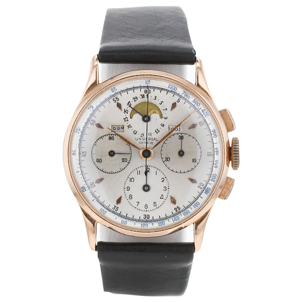 Universal Geneve Pink Gold Watch