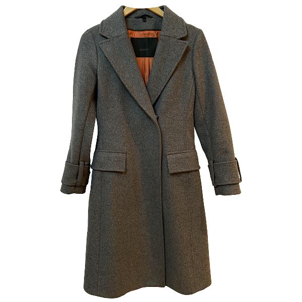 Belstaff Grey Wool Coat