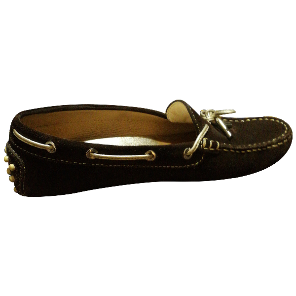 Tod's Gommino Brown Leather Flats