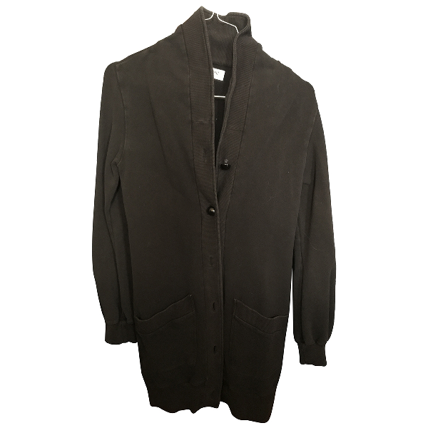 Moschino Black Cotton Knitwear
