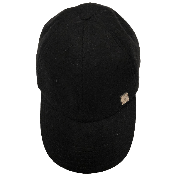 Chanel Black Wool Hat