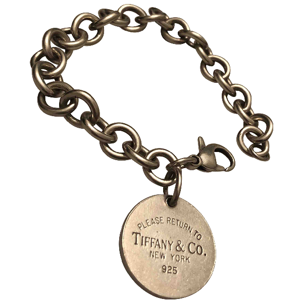 Tiffany & Co Return To Tiffany Silver Silver Bracelet