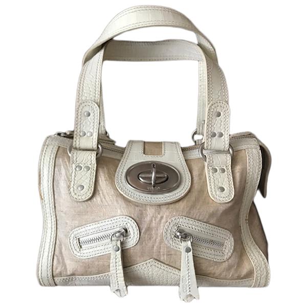 Kenzo Beige Cloth Handbag