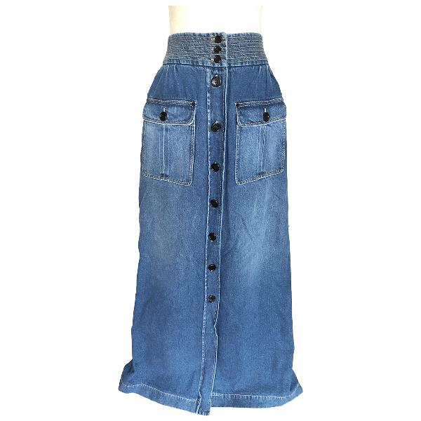 ChloÉ Blue Denim - Jeans Skirt