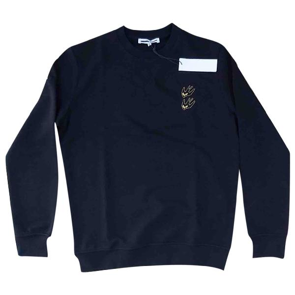 Mcq By Alexander Mcqueen Black Cotton Knitwear & Sweatshirts
