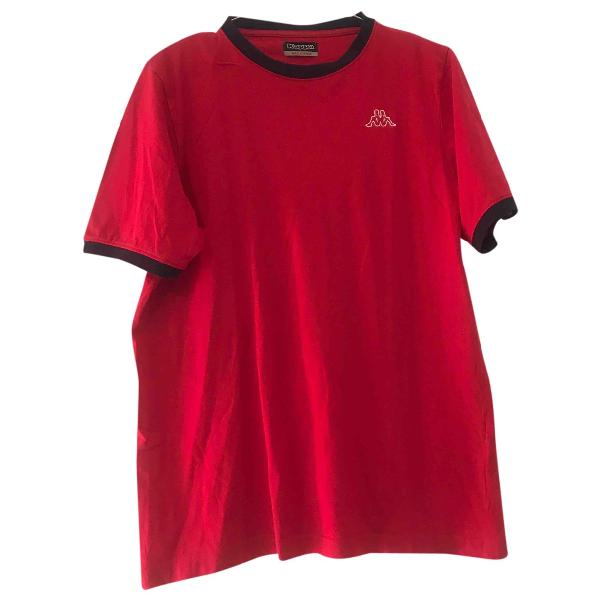 Kappa Red Cotton T-shirts