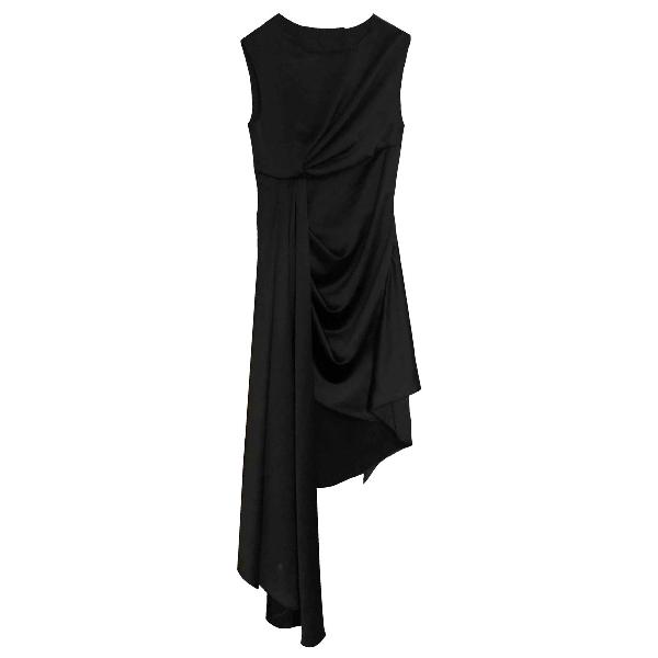 Off-white Black Dress