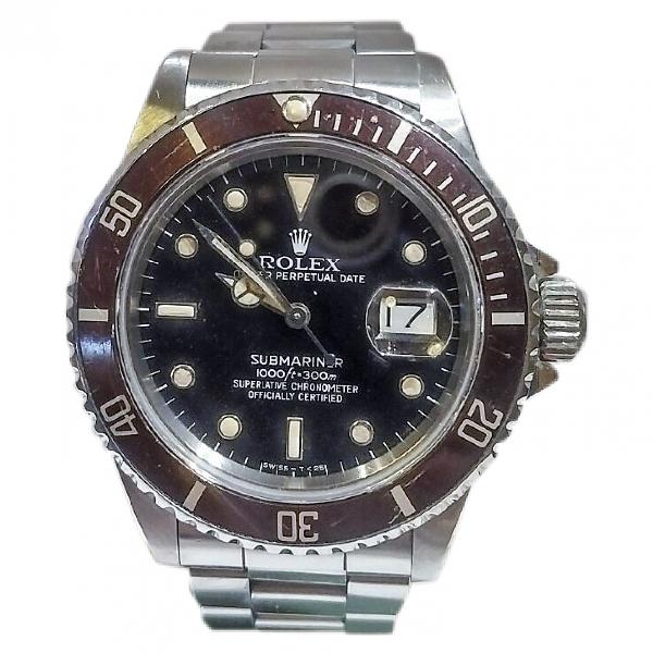 Rolex Submariner Silver Steel Watch
