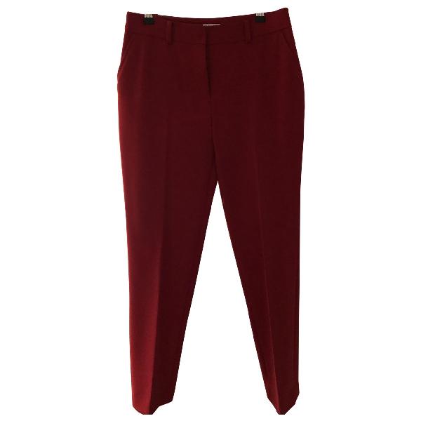 Claudie Pierlot Red Trousers